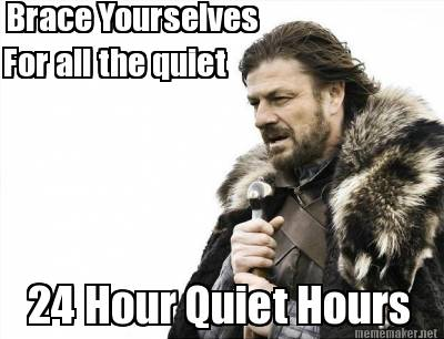 24/7 Quiet Hours | College Houses \u0026 Academic Services